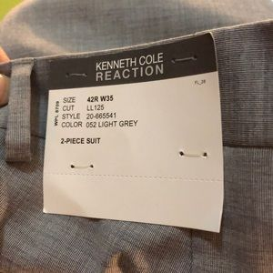 Kenneth Cole Reaction 2 piece Suit in Grey